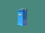 Герметичные контейнеры для боя медицинских термометров.