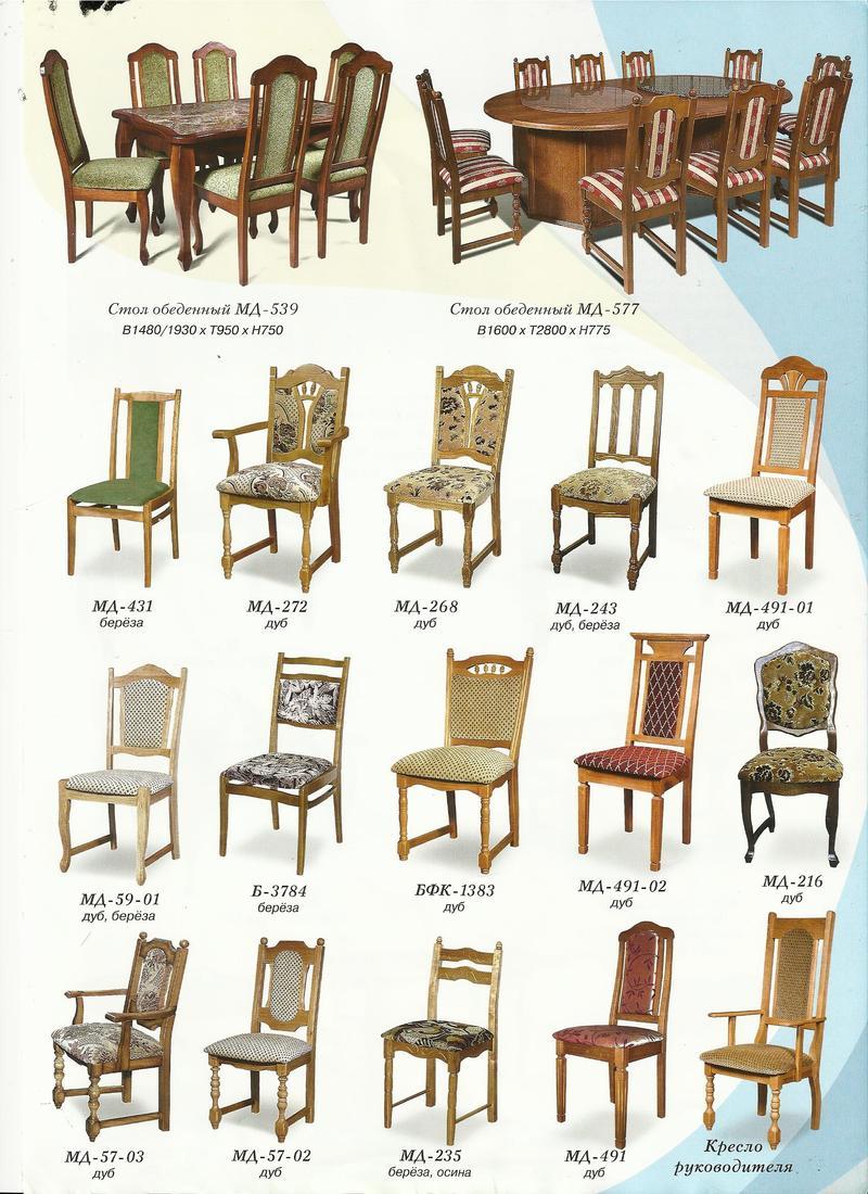 Мебель из Белоруссии, столы и стулья по ценам завода-изготовителя - Мебель