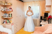 Белоснежное свадебное платье!!!