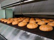 Сетка подовая термостойкая секционная для заводской выпечки хлеба.