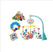 Поворот детей музыка кровать Белл гремит игрушки набор 8шт SKU: A23140