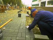 Кладка тротуарной плитки любой сложности водоотводы