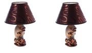 Уютные интерьерные лампы для спальни набор 2 шт