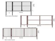 Ворота и калитки садового типа с доставкой по области