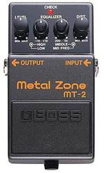 педаль  BOSS MT-2 METAL ZONE