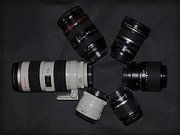 Canon  Zoom lens - 24 mm - 70 mm - F/2.8 - Canon EF